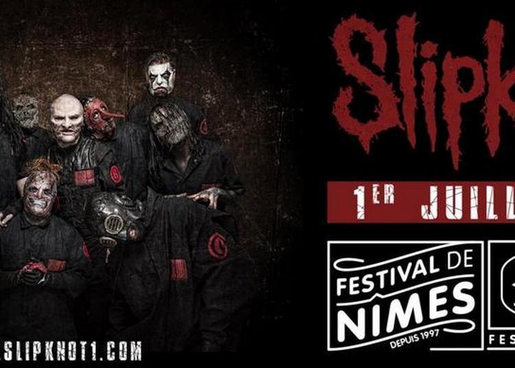 Slipknot à Nimes