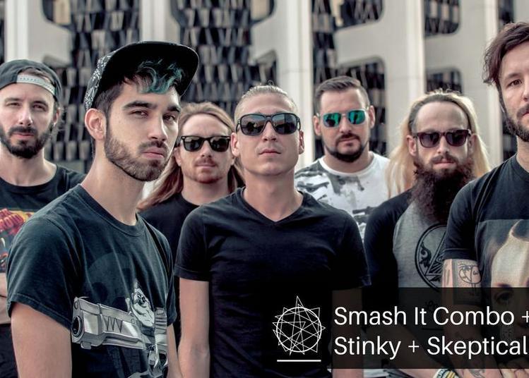 Smash Hit Combo, Stinky et Skeptical Sigh à Bourges
