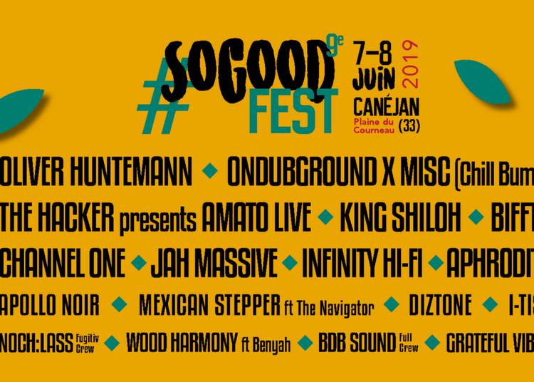 So Good Fest #9 - Pass Vendredi à Canejan