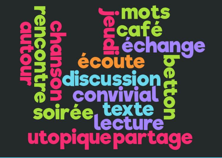 Soirée Autour des mots 2019