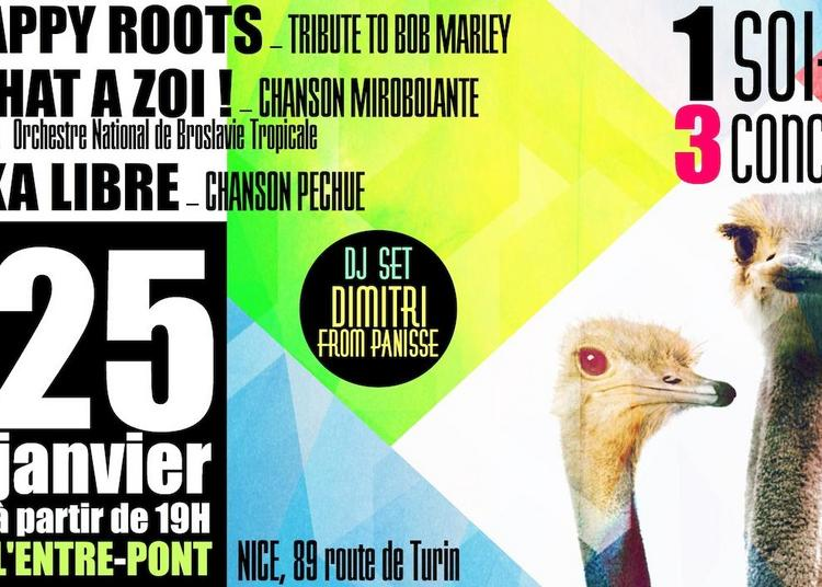 1 soirée, 3 concerts! à Nice