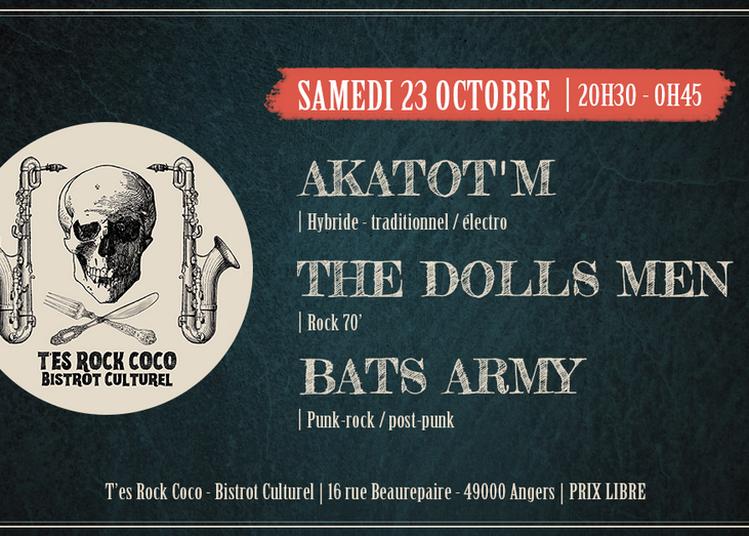 Soirée concerts au T'es Rock Coco - Bistrot Culturel à Angers