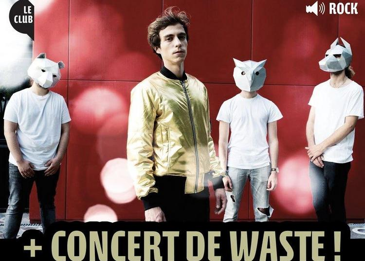 Soirée De Présentation Du Trimestre + Concert De Waste ! Entrée Libre ! à Ris Orangis