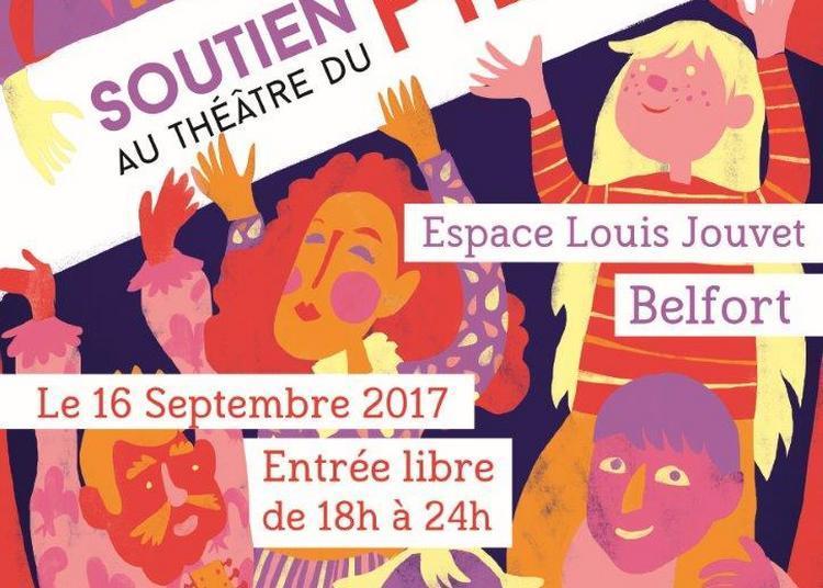 Soirée de soutien pour le théâtre du Pilier à Belfort