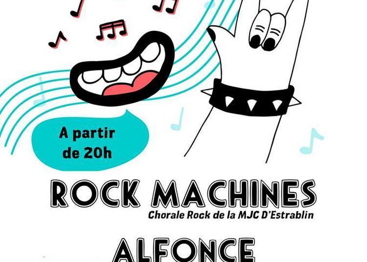 Rock Machines et Alfonce à Vienne
