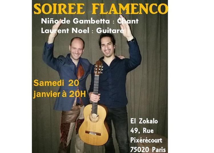 Soirée Flamenco à Paris 20ème