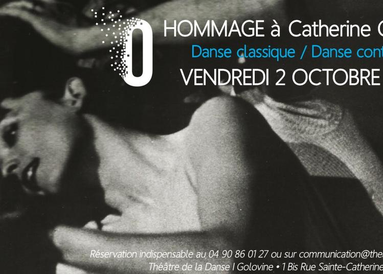 Soirée Hommage à la danseuse Catherine Golovine à Avignon