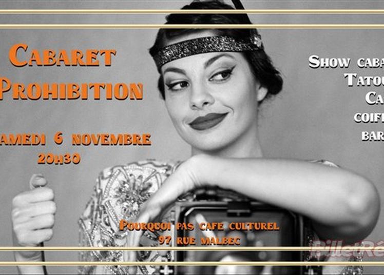 Soirée Immersive : Cabaret Prohibition à Bordeaux