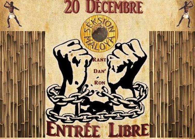 Soirée Kabar Maloya - Fête Abolition De L'Esclavage à La Réunion à Paris 19ème