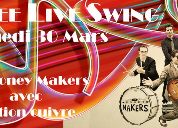 Soirée live avec Money Makers et sa section cuivre à Toulouse