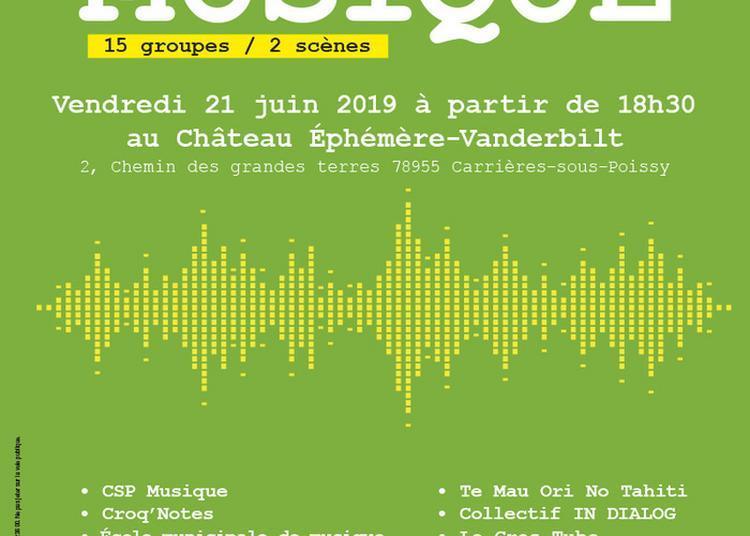 Soirée Musicale 15 Groupes / 2 Scènes à Carrieres Sous Poissy