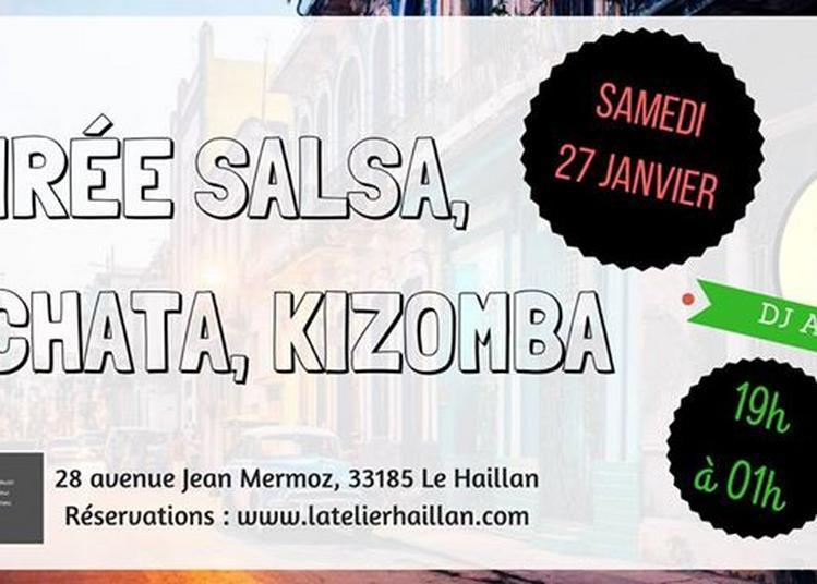 Soirée Salsa, Bachata, Kizomba avec DJ Amour à Le Haillan