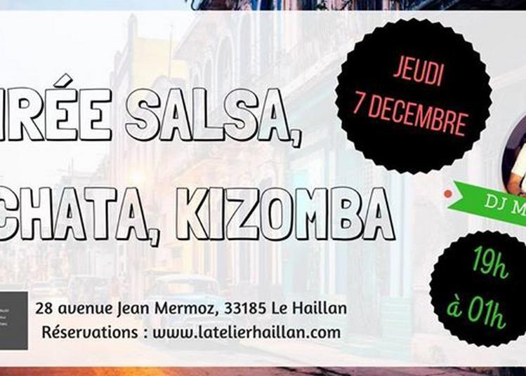 Soirée Salsa, Bachata, Kizomba avec DJ Mousse ! à Le Haillan