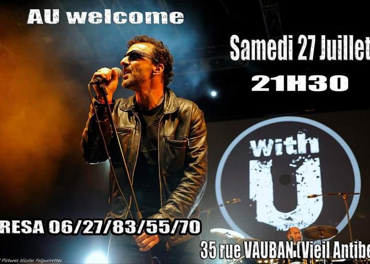 Soiree Tribute to U2 avec With U à Vallauris
