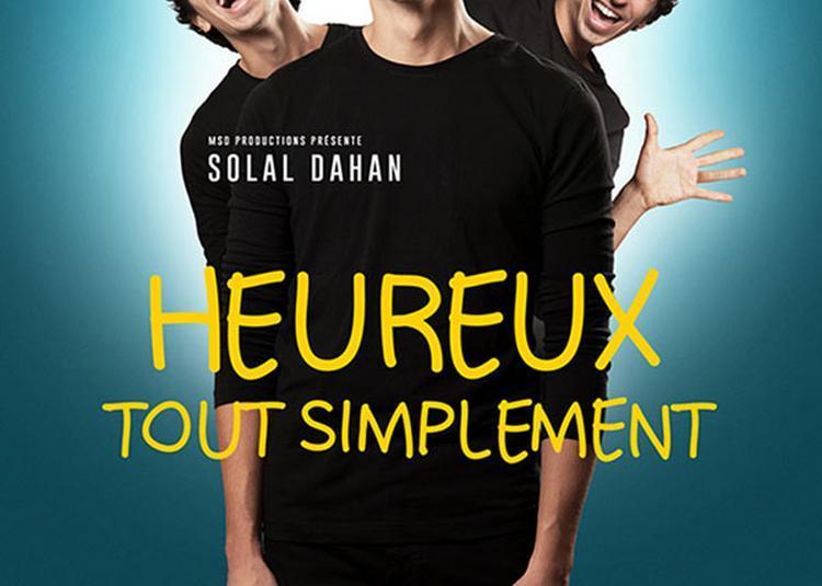 Solal Dahan à Paris 11ème