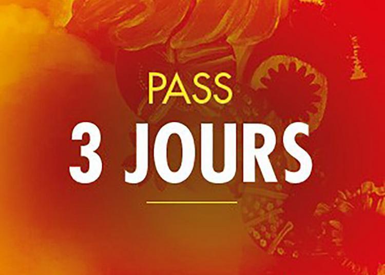 Solidays 2020 - Pass 3 Jours 82 à Paris 16ème