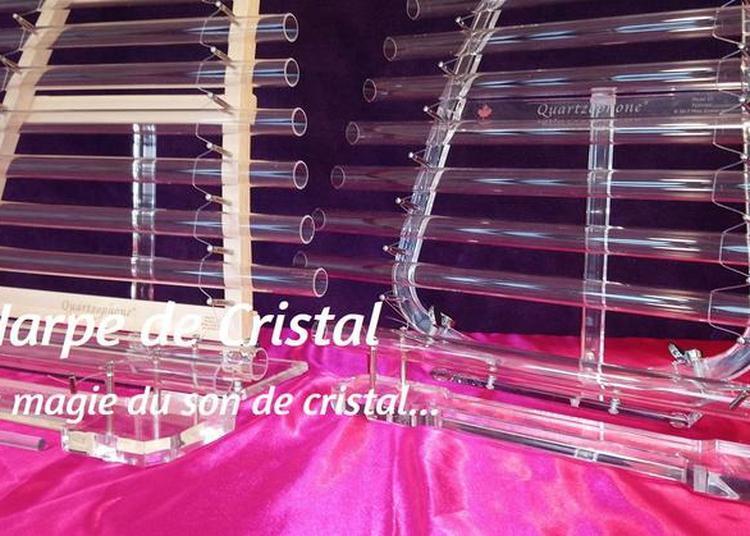Sons et vibrations d'une Harpe de Cristal à Mandelieu la Napoule
