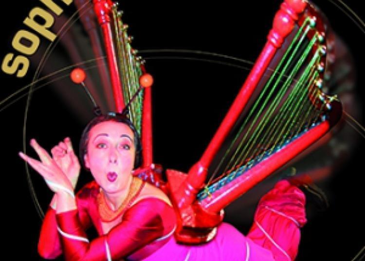 Sophie, La Harpiste à Paris 4ème