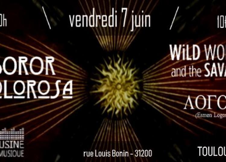 Soror Dolorosa, Wild Women and the Savages, Esmen Logos à Toulouse