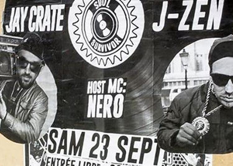 SOUL CLAP:J-Zen + Jay Crate-host MC Nero **Soul Survivor** à Nantes