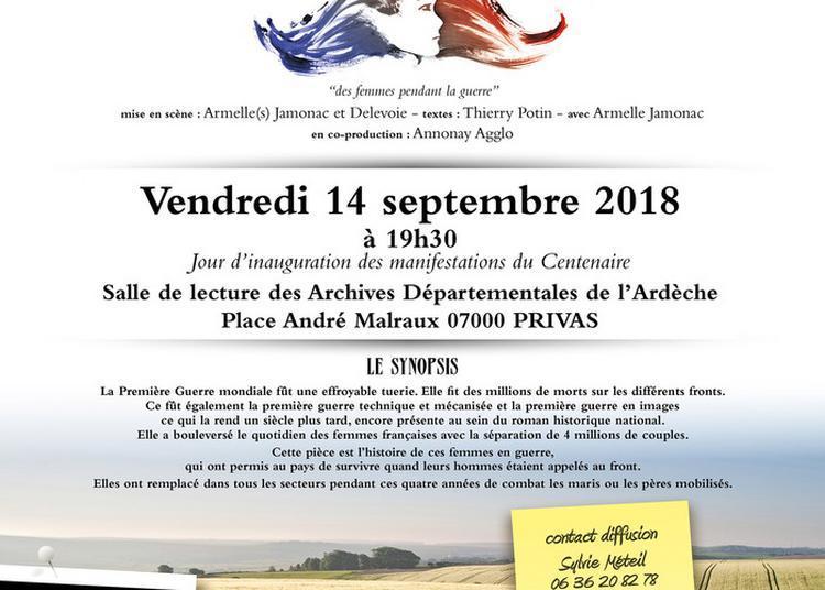 Spectacle «poilues De La Cie D'à Côté». à Privas