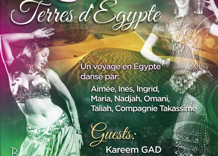 Spectacle Terres d'Egypte, un ballet oriental à Saint Jean de Braye
