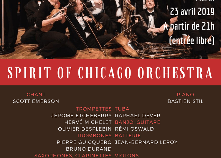 Spirit Of Chicago Orchestra, Singin' In The Rain à Paris 14ème