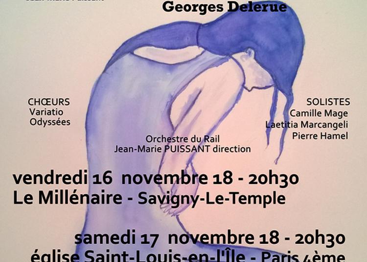 Stabat Mater de Karl Jenkins/Concerto de l'Adieu de Georges Delerue à Savigny le Temple