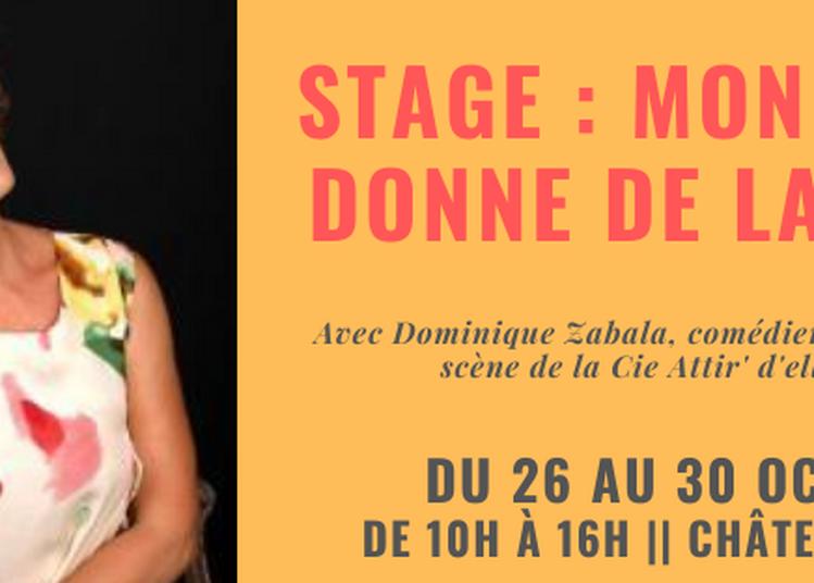 Stage de théâtre : Mon clown donne de la voix ! à Cenon