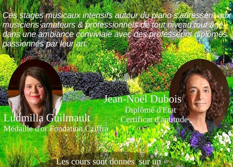2 ème stage International de Toussaint, piano en Charente 3 jours à Barret