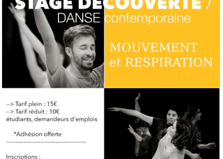 Stage découverte en danse contemporaine à Cenon