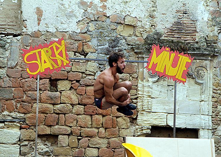 Starsky minute (Clown acrobatique) à Bonac Irazein