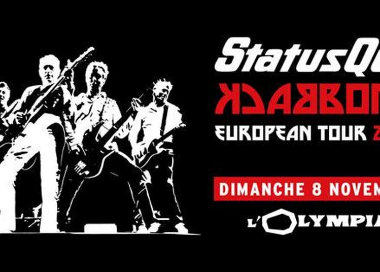 Status Quo à Paris 9ème