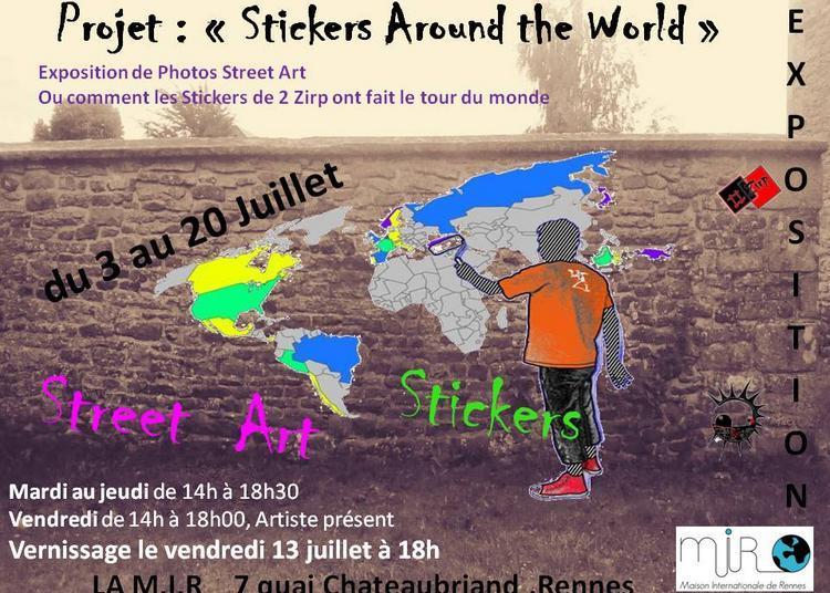 Stickers Around the World à Rennes
