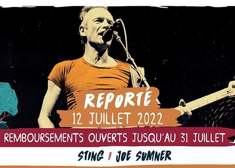 Sting - report concert 2020 à Saint Malo du Bois