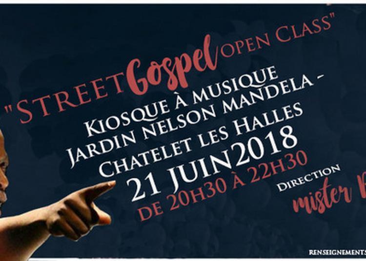 Street Gospel Open Class à Paris 1er