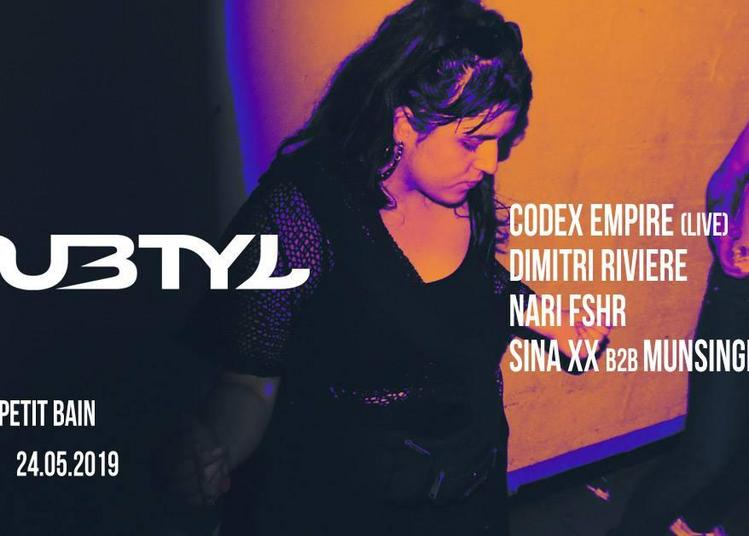 Subtyl: Codex Empire, Nari Fshr, Munsinger à Paris 13ème