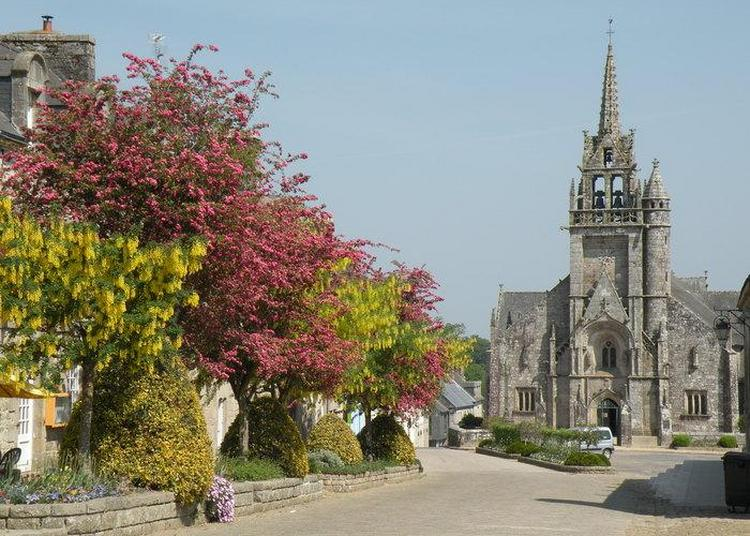 Suivez Le Guide à L'église Saint Ténénan à Guerlesquin