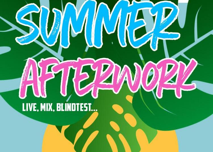 Summer Afterwork Ft. Sheesha Rose & DJ JP Mano à Paris 10ème