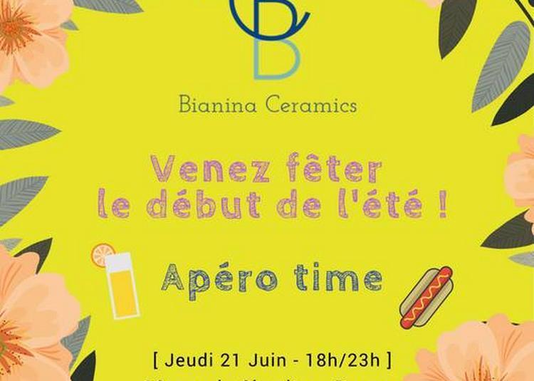 Summer Apéro chez Bianina Ceramics à Rennes