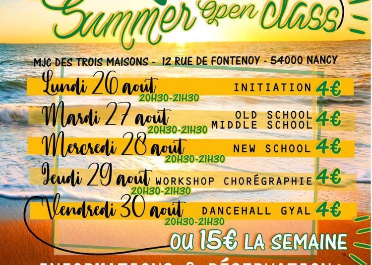 Summer Open Class 2019 avec GoodToGo Dancehall à Nancy
