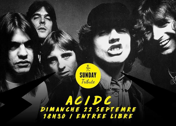 Sunday Tribute - AC/DC à Paris 12ème