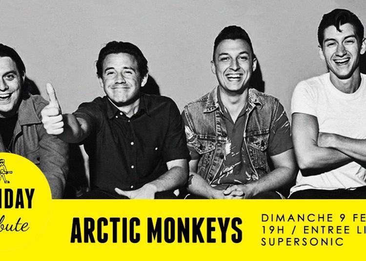 Sunday Tribute - Arctic Monkeys à Paris 12ème