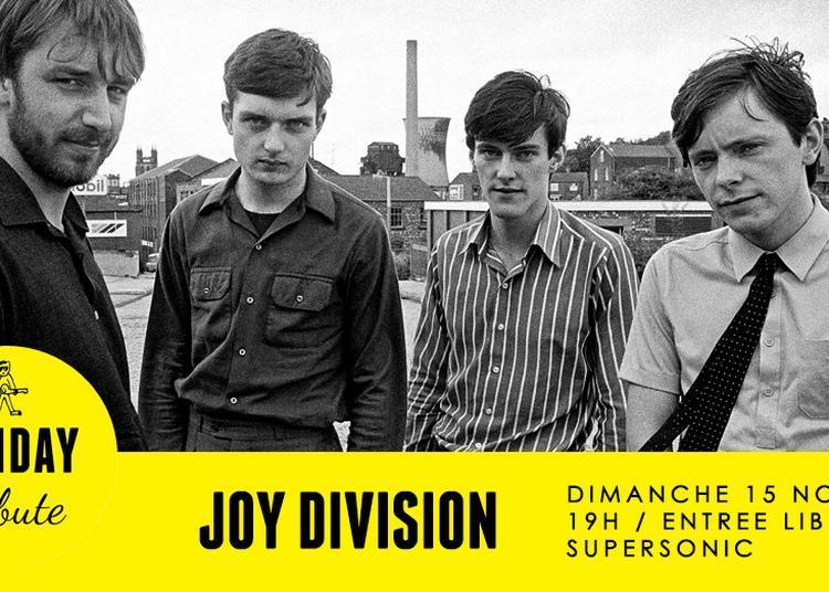 Sunday Tribute - Joy Division à Paris 12ème