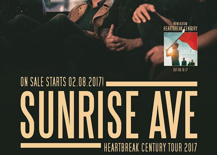 Sunrise Avenue à Paris 11ème