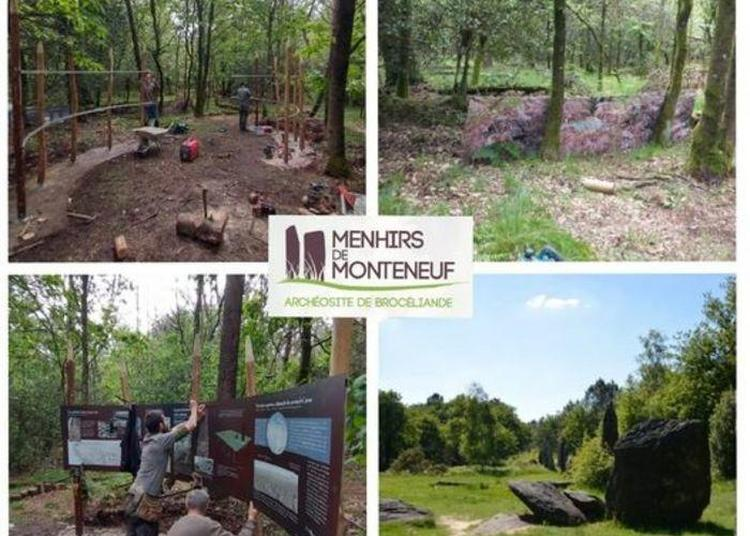 Sur Les Pas Des Archéologues ! à Monteneuf