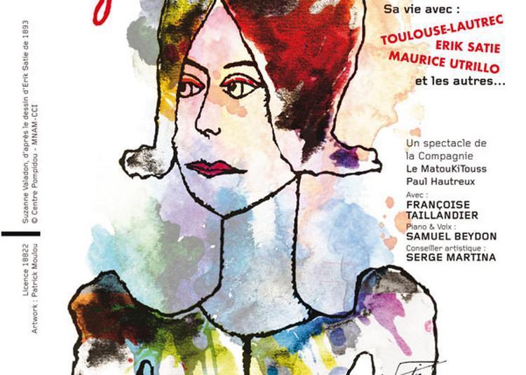 Suzanne Valadon à Paris 14ème