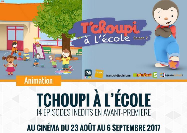 T'Choupi à l'école à Bourges