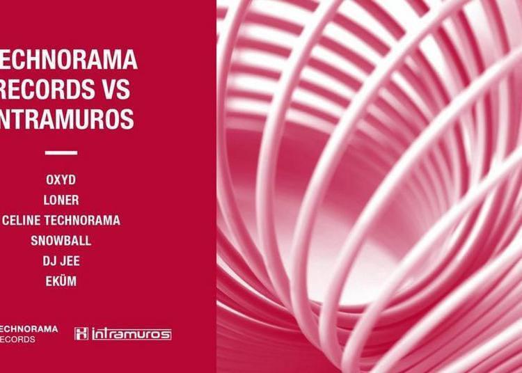Technorama Records Vs Intramuros à Paris 11ème