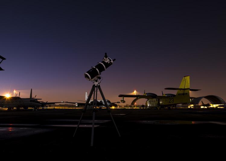 Télescopes : Chasse Aux Planètes à Le Bourget